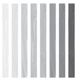 White Lath boards set isolated on white background vector image vector image