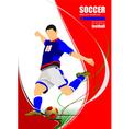 al 1001 soccer 01 vector image vector image
