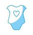 baby clothes icon vector image vector image