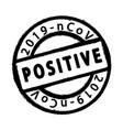 coronavirus grunge stamp vector image