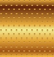 Metallic Gold Decorative Background vector image vector image