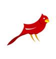 modern bird flat clip art vector image vector image