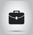 suitcase box icon on isolated background business vector image vector image