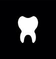 tooth premium icon vector image vector image