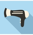 Hairdryer icon flat style vector image vector image