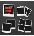 Instant Photo Photorealistic EPS10 vector image