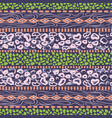 african ethnic pattern design violet purple dots vector image