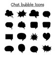 chat balloon speech bubble talking speaking icon vector image