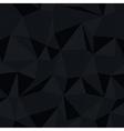 dark triangle pattern vector image vector image