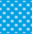 drum and drumsticks pattern seamless blue vector image vector image