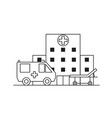 first medical aid concept medical icons in trendy vector image