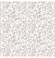 flying feathers seamless pattern vector image