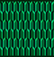 green mosaic geometric seamless pattern vector image