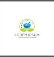 medical herbal pharmacy logo icon design vector image vector image