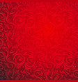 red bright ornament vector image