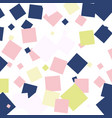 abstract seamless squares geometrical pattern vector image
