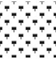 Blank billboard pattern simple style vector image vector image