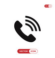 call volume icon vector image