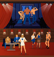 club striptease banners set vector image vector image