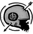 dead arrow vector image vector image