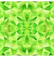 Green abstract crystal seamless pattern