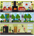 set of internet concept posters banners vector image