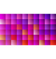 trendy color design backdrop with purple squares vector image