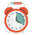 Twenty Minutes Stop Watch - Alarm Clock vector image vector image