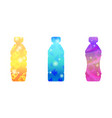 abstract background bottle vector image vector image