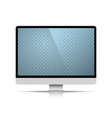 computer object on white background vector image vector image