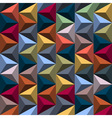 Multicolored background from pyramids