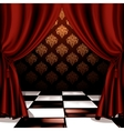 Royal room vector image