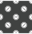 STOP pattern vector image vector image
