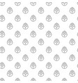 unique digital hops seamless pattern with various vector image vector image