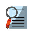 file or document icon image vector image