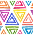 Abstract seamless watercolor pattern vector image