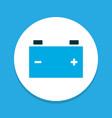 accumulator icon colored symbol premium quality vector image