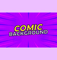 comical abstract background vector image vector image