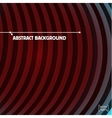 Dark red Circle stripes abstract background vector image vector image