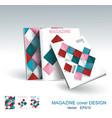 design business brochure magazine flyer vector image vector image