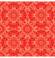 geometric floral background vector image vector image