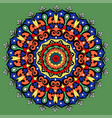 mandala round ornament patterngeometric circle vector image