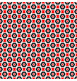 red black and white seamless abstract mechanic vector image vector image