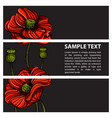 set of ve tor horizontal banners with hand drawn vector image vector image