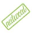Natural grunge rubber stamp vector image