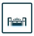 Gas burner icon vector image