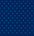 independence day seamless pattern with stars - blu vector image vector image