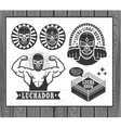 Lucha Libre vector image vector image