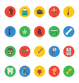 Medical Icons 6 vector image vector image