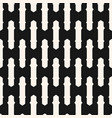 monochrome seamless striped black pattern vector image